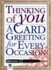 Words for Every Occasion/Thinking of you card...