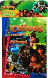 The Croods Colouring and Activity books PACK