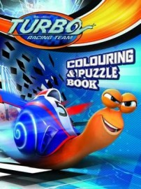 Turbo: Colouring & Puzzle Book