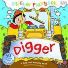Sticker Playbook - Digger