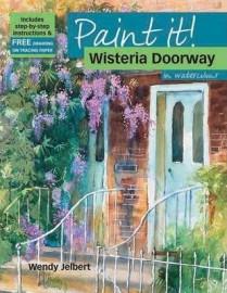 Paint it! Wisteria Doorway
